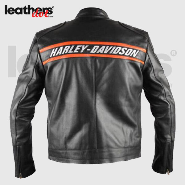Harley Devidson WWE Bill Goldberg Biker Motorcycle Men Leather Jacket