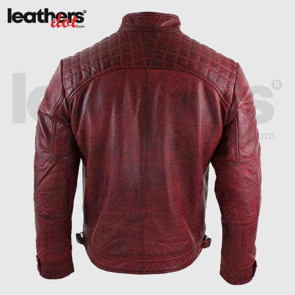 Men-Distressed-Maroon-Leather-Jacket-back