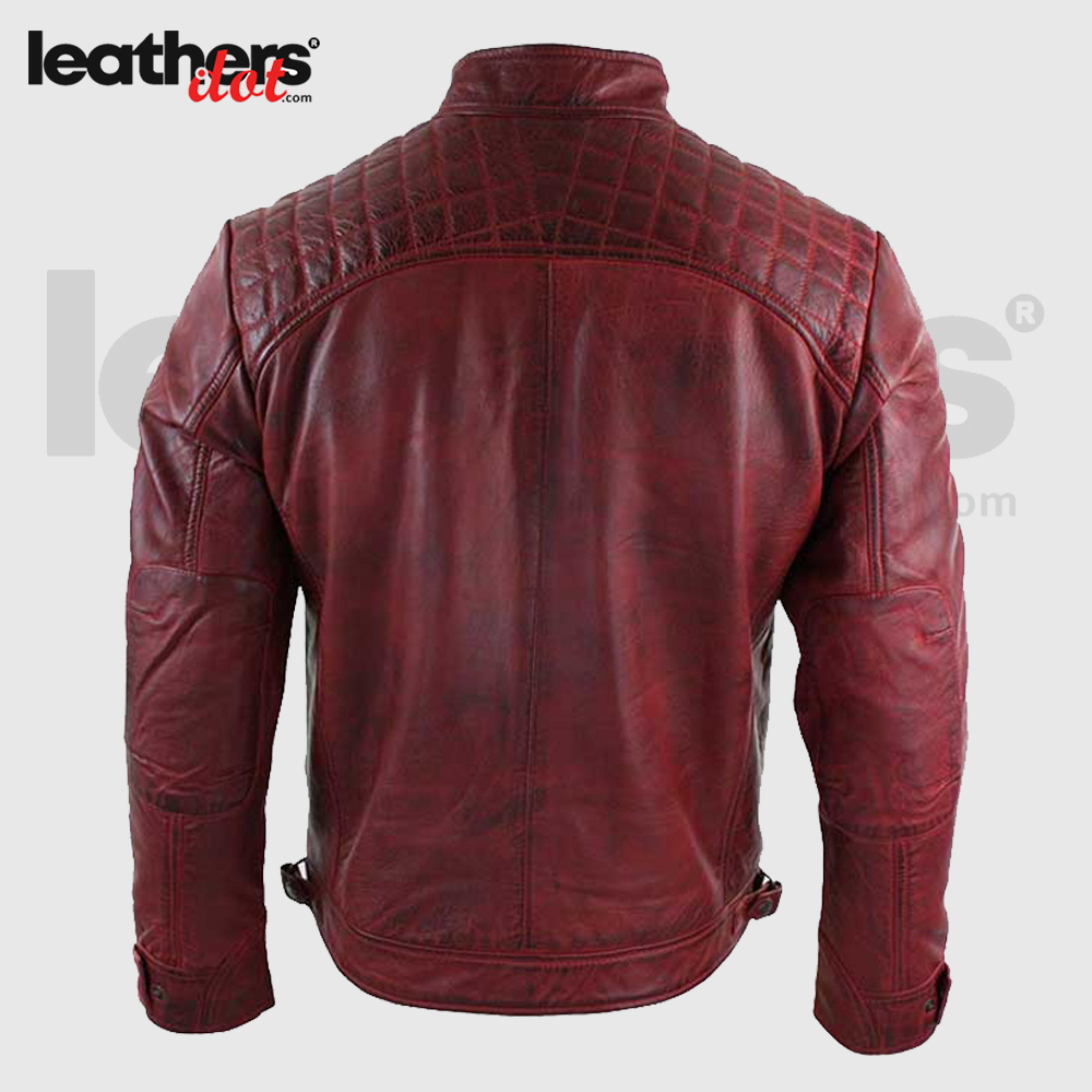 Men-Distressed-Maroon-Leather-Jacket-back
