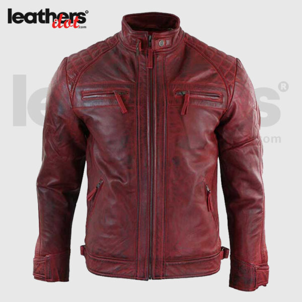 Men-Distressed-Maroon-Leather-Jacket.