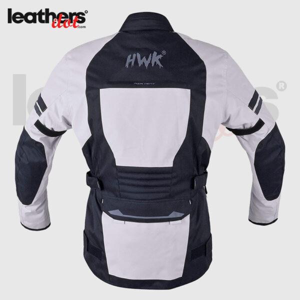 Ce Armored Light Grey Cordura Men Textile Motorcycle Motorbike Jacket