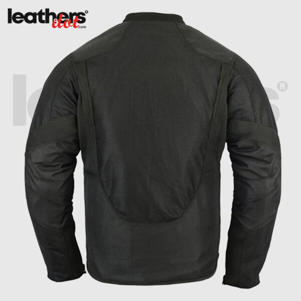 Men's Armored Padded Mesh Motorcycle Riding Jacket