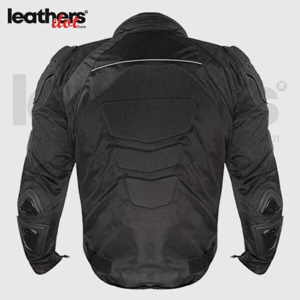 X-Armor New Black Men Textile Cordura Motorcycle Riding Jacket