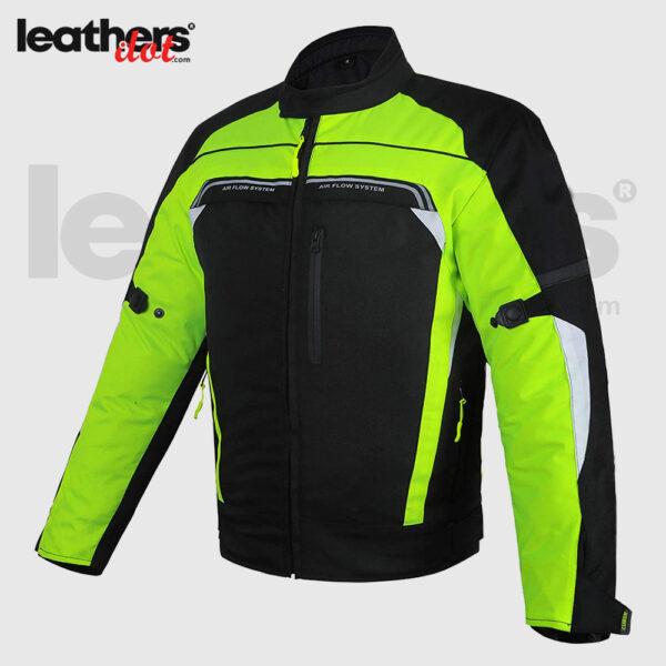 Windproof Men Textile Cordura Racing Motorcycle Riding Jacket