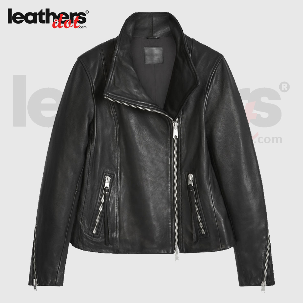 Best Quality Leather Motorbike jacket for Ladies