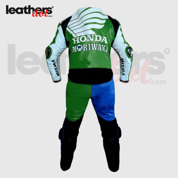 American-Honda-Moriwaki-Motorcycle-Racing-Leather-Suit-back
