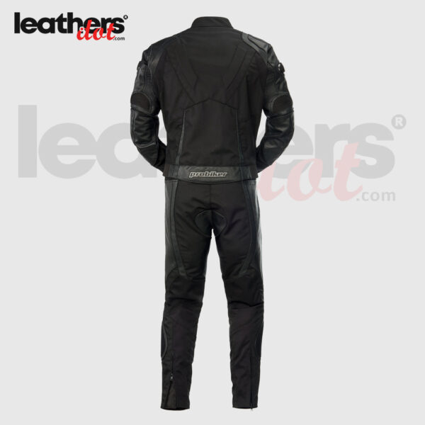 Black-Highly-Protective-2-Piece-Leather-Probiker-Motorcycle-Suit-back