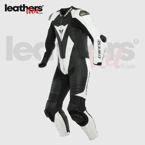 Black-White-Dainese-Laguna-Seca-5-Riding-Racing-Biker-Leather-Suit