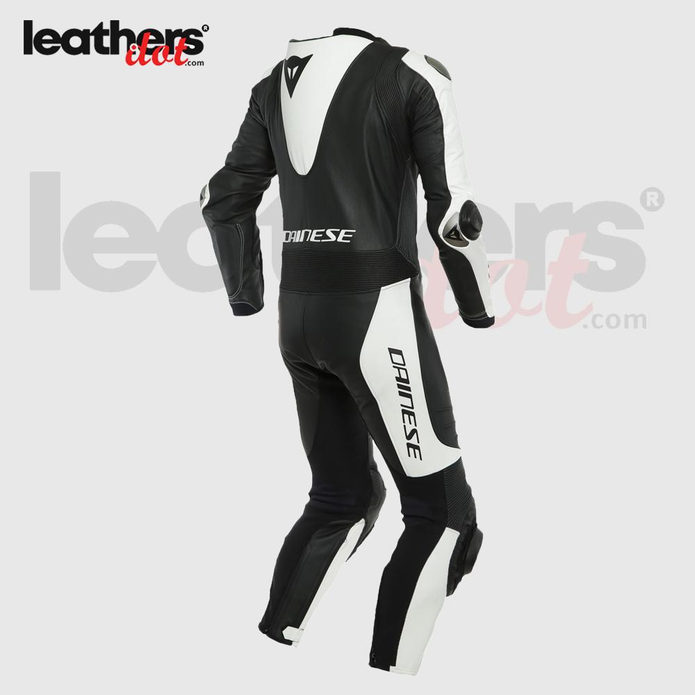 Black-White-Dainese-Laguna-Seca-5-Riding-Racing-Biker-Leather-Suit-back