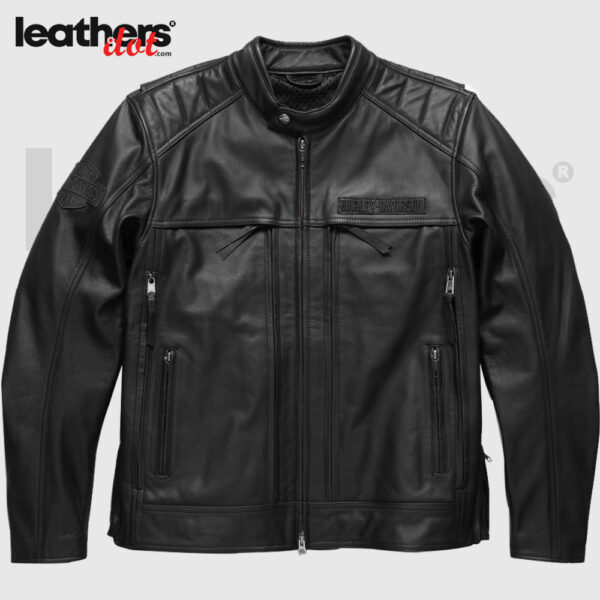 Harley-Davidson-Motorcycle-Synthesis-Pocket-System-Leather-Jacket