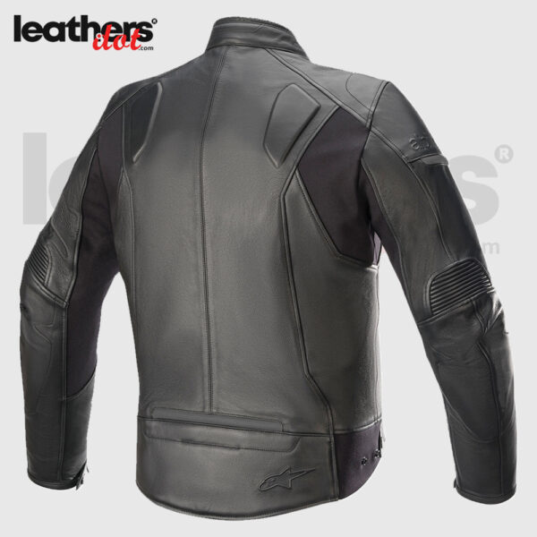 New Classic Alpinestars Sp55 Motorcycle Riding Leather Jacket made of cowhide leather, 1,1 mm thick and permanent mesh lining, 100 % polyester