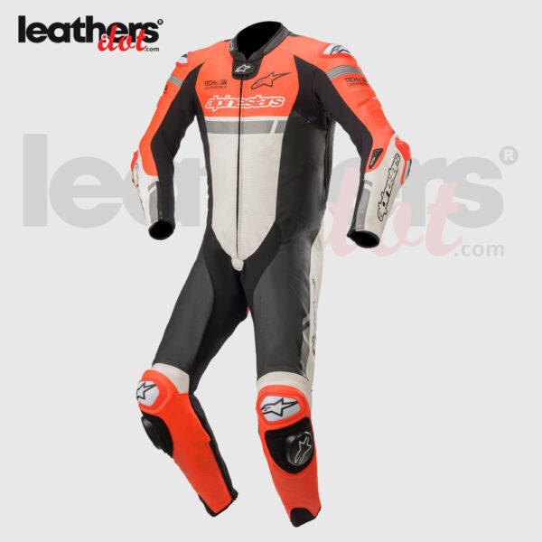 New-Men-Biker-Alpinestars-Missile-Ignition-1-piece-Racing-Leather-Suit