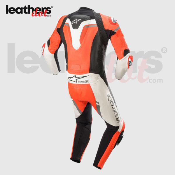 New-Men-Biker-Alpinestars-Missile-Ignition-1-piece-Racing-Leather-Suit-back