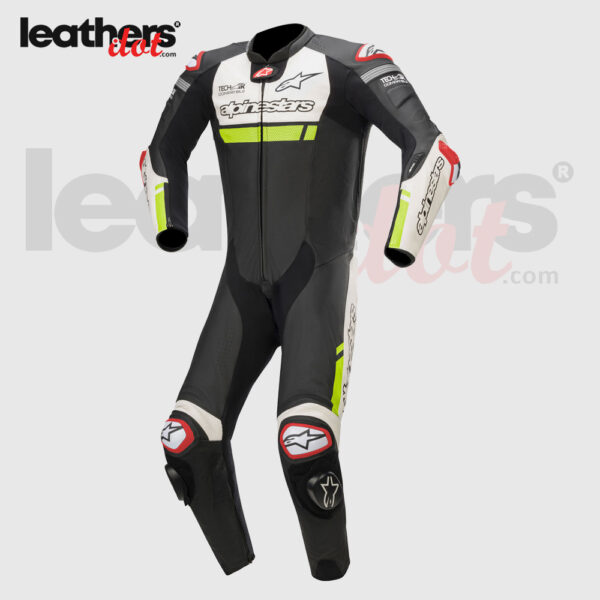 Tech-Air-MotoGP-Biker-Alpinestars-Missile-Riding-1-piece-Leather-Suit