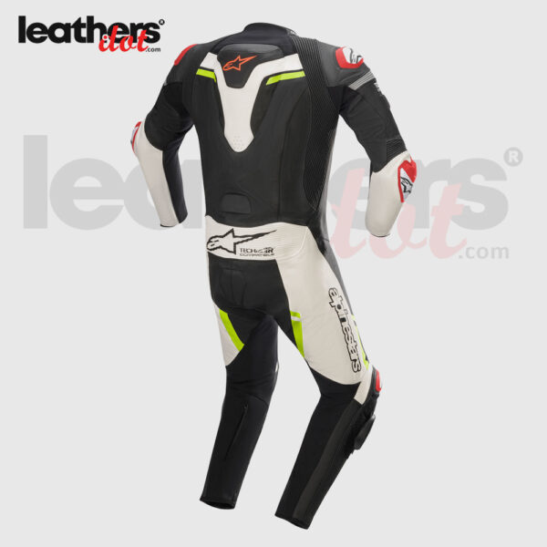 Tech-Air-MotoGP-Biker-Alpinestars-Missile-Riding-1-piece-Leather-Suit-back
