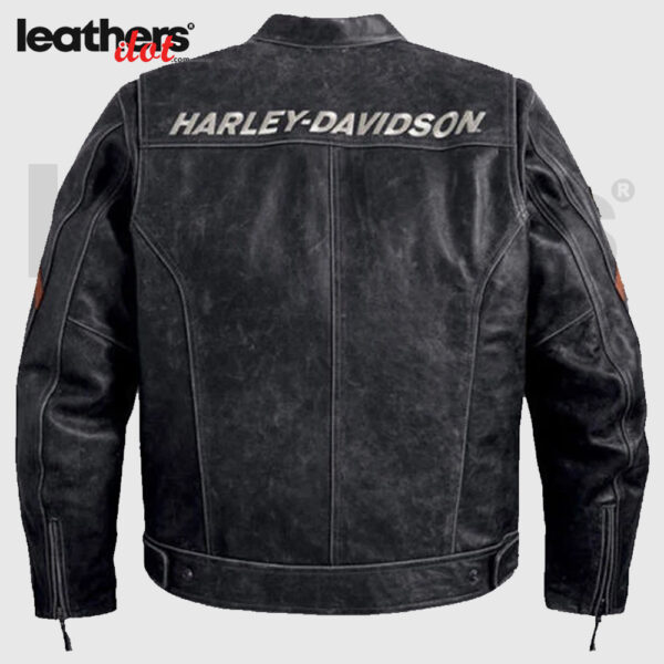 Harley-Davidson-Black-Boxford-Leather-Jacket-back