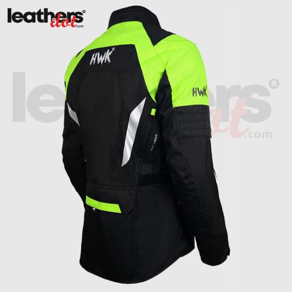 High-Vis Green Adventure Men's Motorcycle Adv Dual Sport Racing Jacket