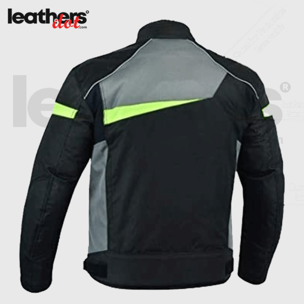 Men 600D Cordura Textile CE Armored Motorcycle Jacket