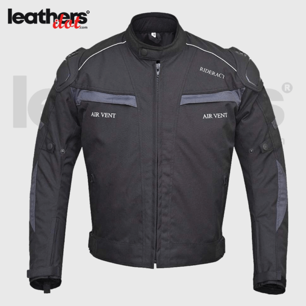 Mens Textile Cordura 600D Waterproof Motorcycle Jacket