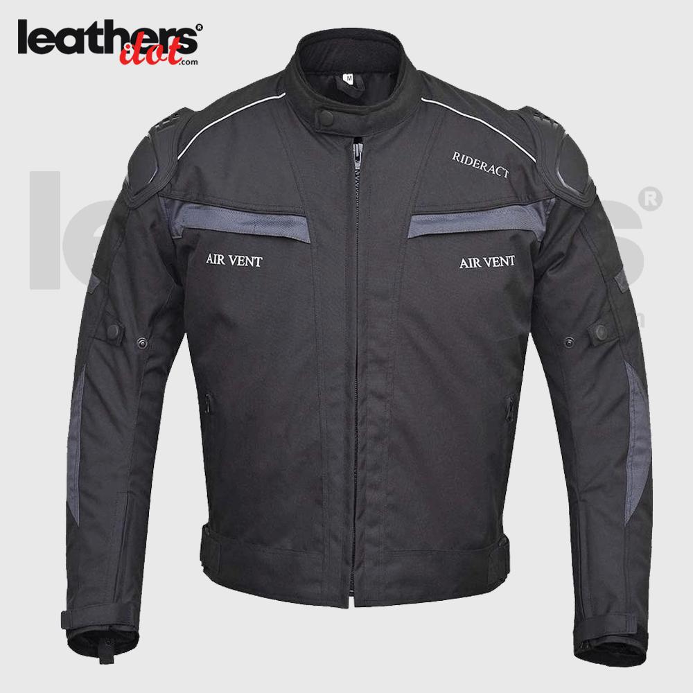 Mens Textile Cordura 600D Waterproof Motorcycle Jacket