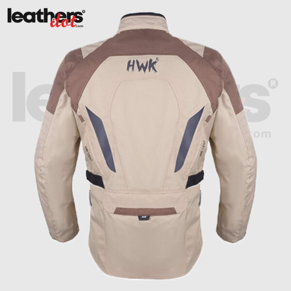 Touring Men's Motorcycle Adv Dual Sport Racing CE Armored HWK Jacket