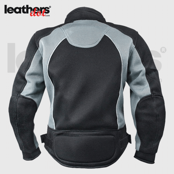 Women Light CE Approved X-Armor Black and Grey Mesh Jacket