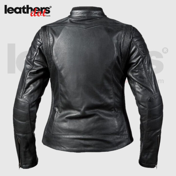 Bilt Arcadia Women's Biker Motorcycle Leather Jacket